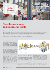 Cetec Industrie ouvre le dialogue à ses clients