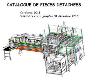 Catalogue pièces détachées